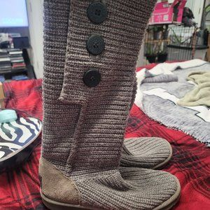 womens ugg classic cardy boots